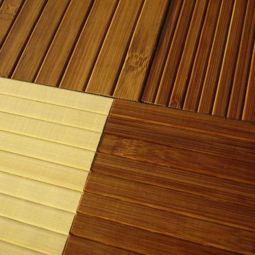Bamboo wallboard and bamboo blinds